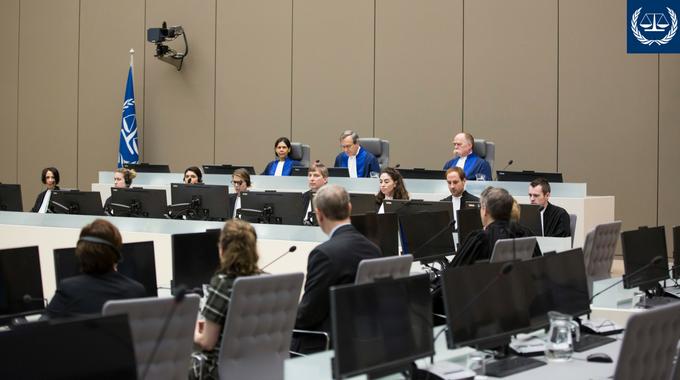 Судебное слушание в гаагском МУС